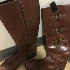 Shoes - brown riding boots